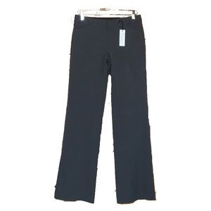 EXPRESS Gray Low Rise Flare Editor Pants 4L NWT